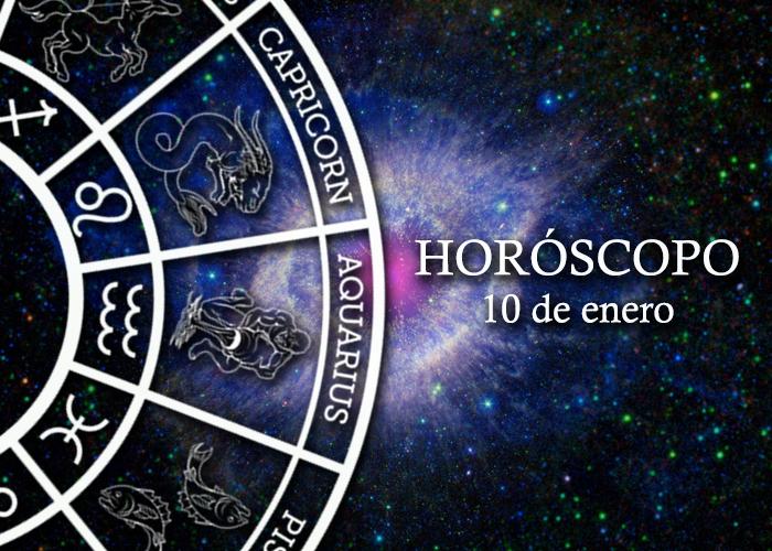 Horóscopo del10 de enero