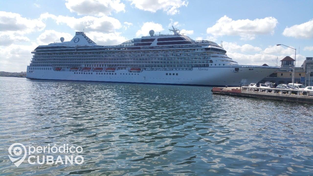 El puerto de La Habana recibe al primer crucero alemán del año