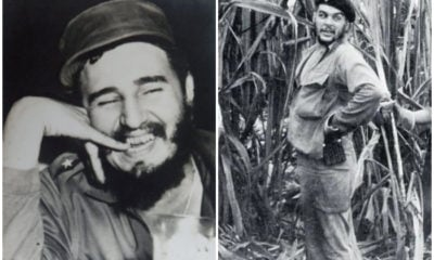 Fidel Castro y Ernesto Guevara