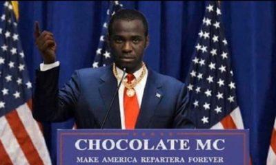 Especulan en las redes sociales con imagen de Chocolate MC como presidente de EEUU