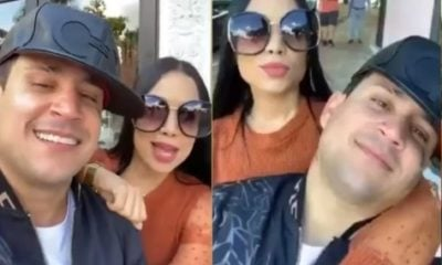 Osmani García y La Damosky se exhiben por las calles de Miami muy acaramelados