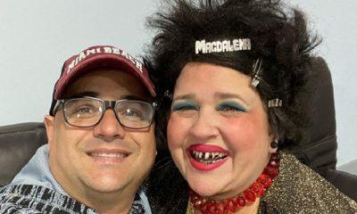 Facundo y Magdalena La Pelúa, humoristas cubanos