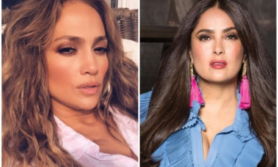 Salma Hayek y Jennifer López, actrices de Hollywood