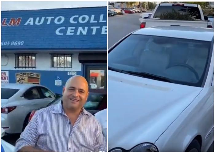Andy Vázquez ya tiene su primer carro en Miami