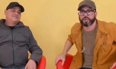 Andy Vázquez durante su entrevista en el show de Otaola