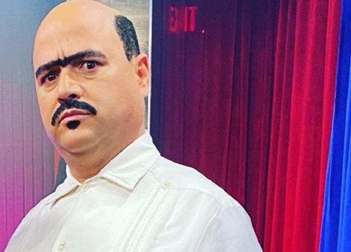 Andy Vázquez interpretando su personaje de Facundo en el show de Carlucho