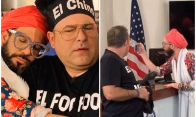 Otaola comparte escenas junto al actor cubano Tony Cortés en la nueva comedia de Cachita Universal Studios
