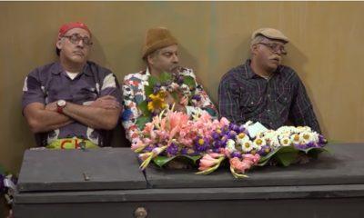 Pánfilo, Chequera y Ruperto deben organizar un velorio en este nuevo episodio de Vivir del Cuento
