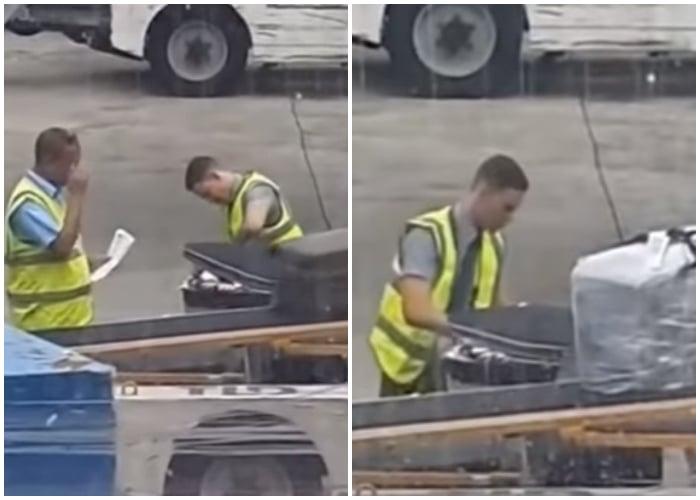 Trabajadores del aeropuerto de La Habana roban en el equipaje de los pasajeros