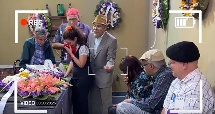 Actores de Vivir del Cuento se diviertan mientras filman cada episodio del espacio humorístico
