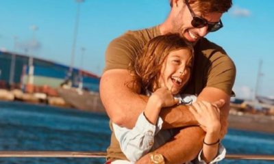 William Levy junto a su hija