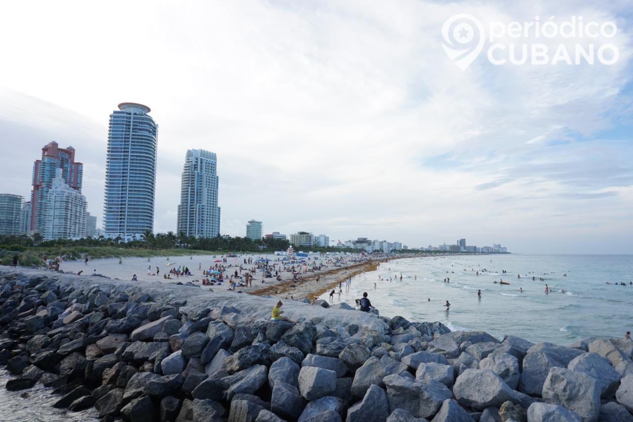 Coronavirus Miami Beach en toque de queda desde las 11 pm
