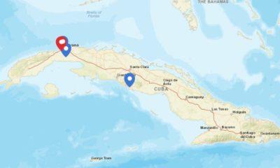Mapa del coronavirus en Cuba