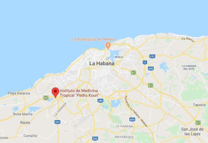 Sitio donde se encuentran ingresados los contagiados por el virus en cuba