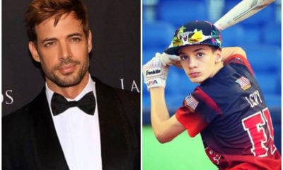 William Levy y su hijo