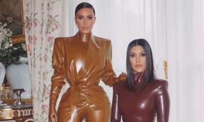 Kim Kardashian y su hermana Kourtney