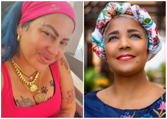 La Diosa lanza un reto en las redes sociales para Haila María Mompié