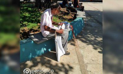Anciano cubano, fotografía de referencia