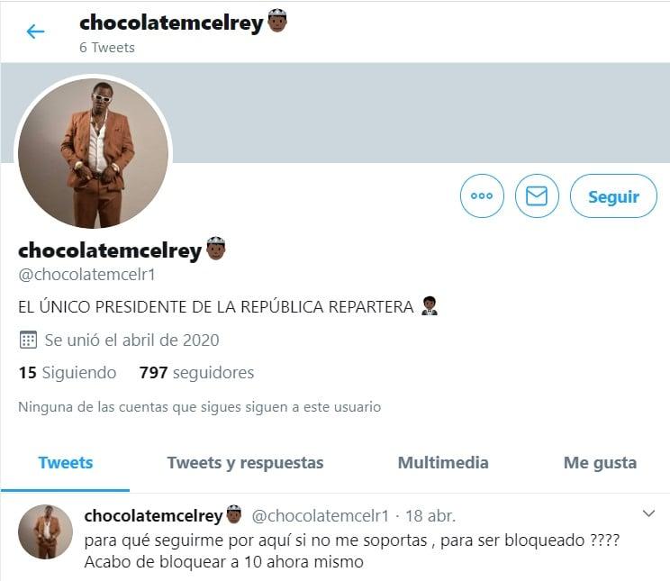 Chocolate MC Twitter