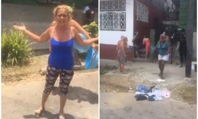 Falta de agua desde hace 15 días desata fuerte protesta en Luyanó (1)