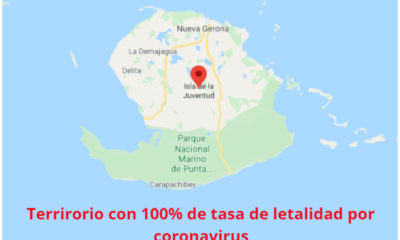 La Isla de la Juventud presenta un 100% en la tasa de letalidad por coronavirus