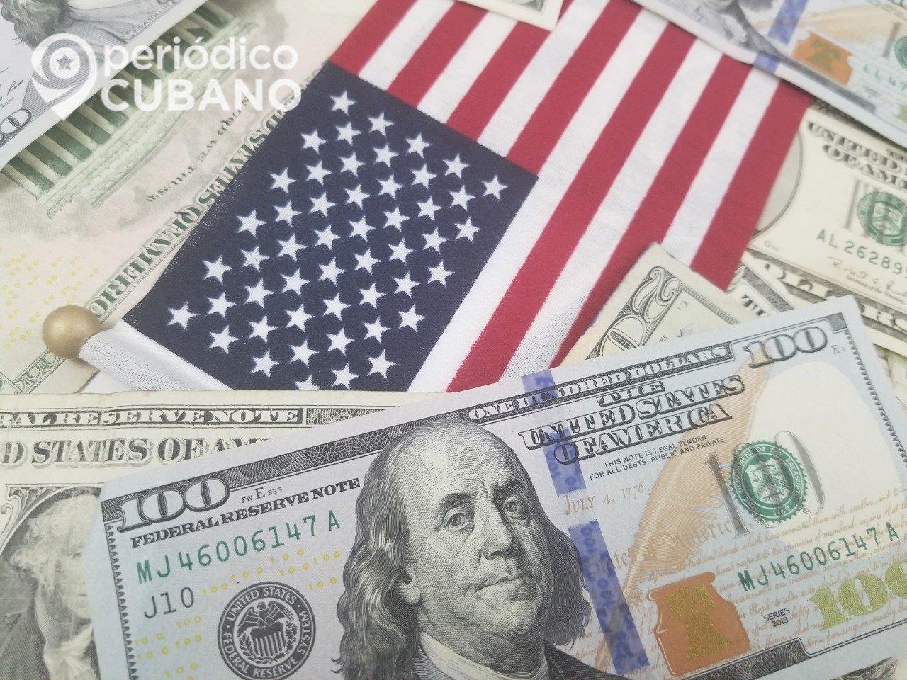 La economía de EEUU se contrae 4.8% en el primer trimestre del año