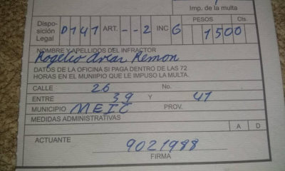 Padres cubanos reciben una multa por llevar a su hija a vacunar en plena pandemia