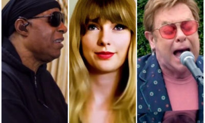 Stevie Wonder, Taylor Swift y Elton John