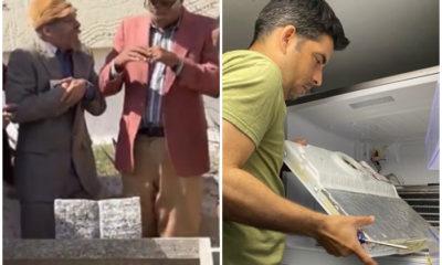 Pánfilo entierra su refrigerador en el último capítulo de Vivir del Cuento y días después debe reparar