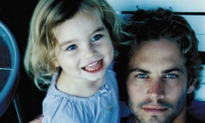 Paul Walker junto a su hija Meadow