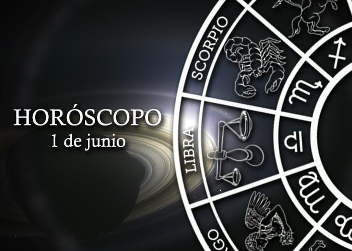 Horóscopo del 1 de junio