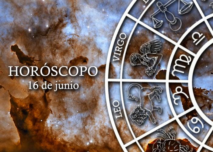 Horóscopo del 16 de junio