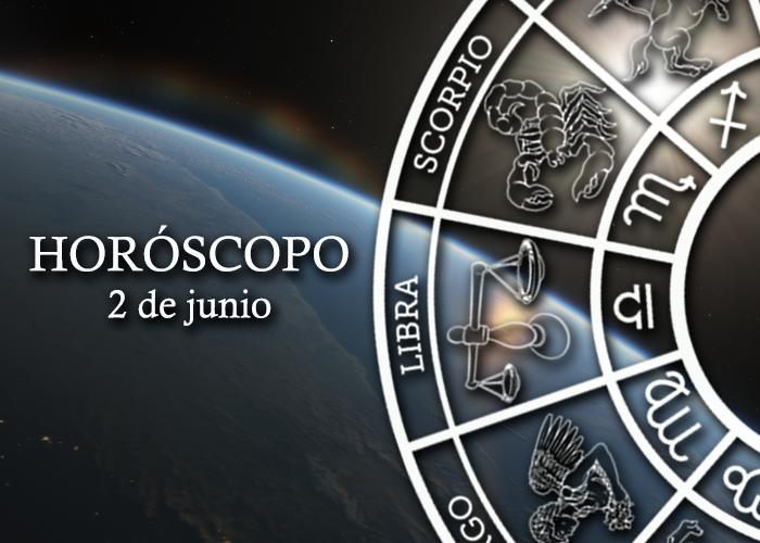 Horóscopo del 2 de junio