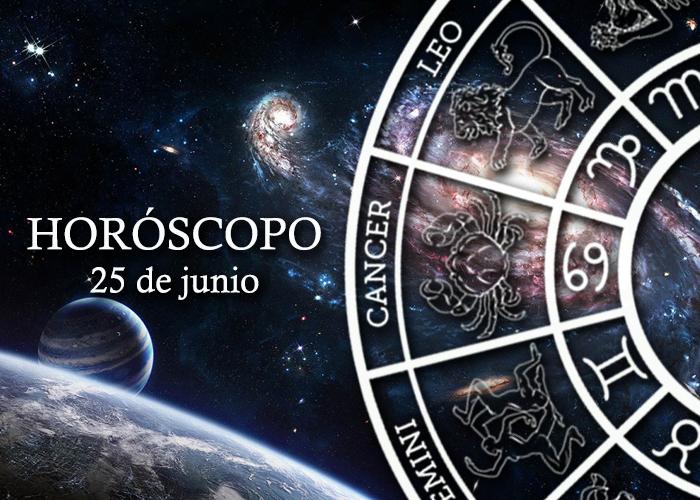 Horóscopo del 25 de junio