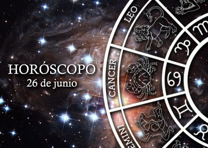 Horóscopo del 26 de junio