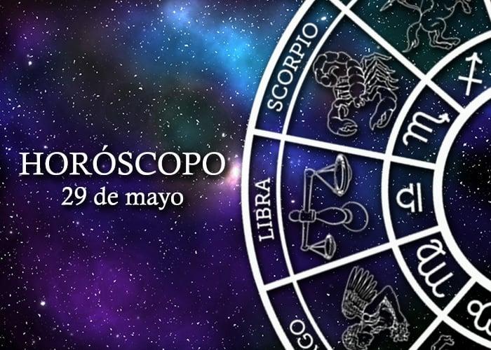 Horóscopo del 29 de mayo