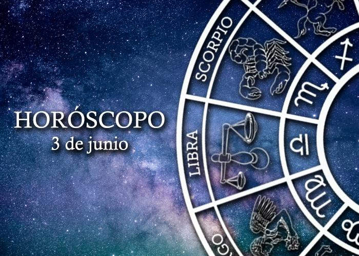 Horóscopo del 3 de junio