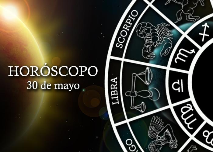Horóscopo del 30 de mayo