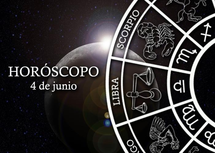 Horóscopo del 4 de junio