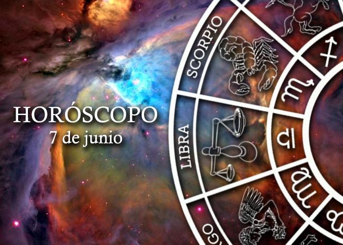 Horóscopo del 7 de junio