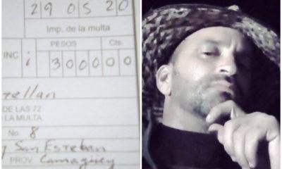 Activista de la UNPACU recibe quinta multa en menos de dos meses