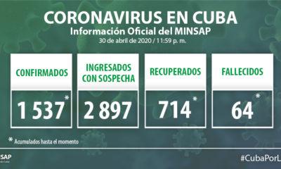 Cuba suma 3 muertos y 36 nuevos infectados por coronavirus (2)