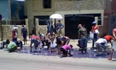 Detergente en las calles