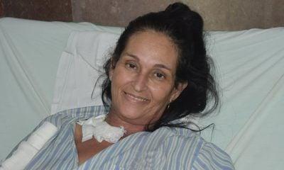 Yaquelín Collado Rodríguez es la enfermera cubana que regresó de misión en Venezuela