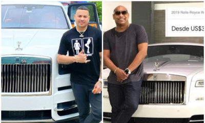 Jacob Forever se compra un Rolls-Royce como Alexander Delgado