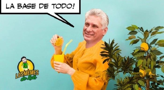 Díaz-Canel y su limonada