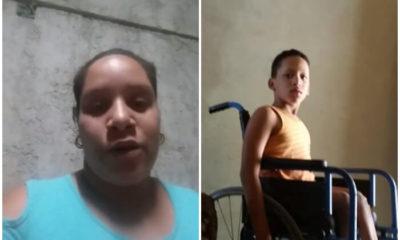 Madre cubana pide ayuda para comprar pañales desechables para su hijo enfermo