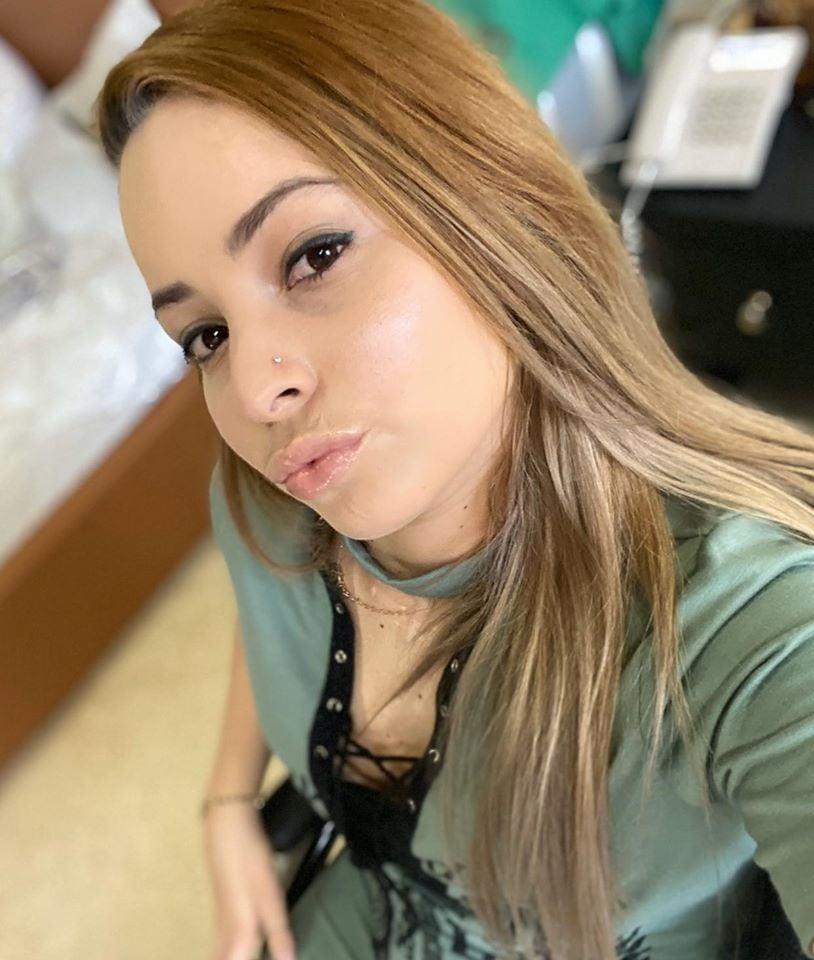 Mailén Díaz enseña las cicatrices del accidente aéreo (Mailen Díaz-Facebook)