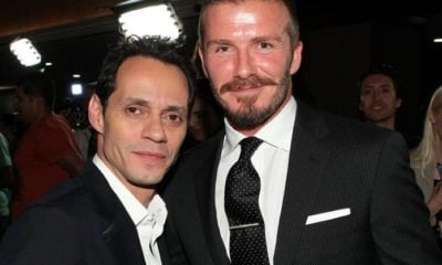 Marc Anthoy y David Beckham