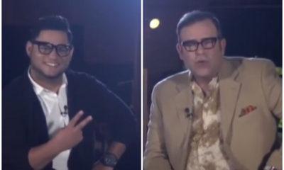 Michelito Dando Chucho en entrevista con Tony Cortes